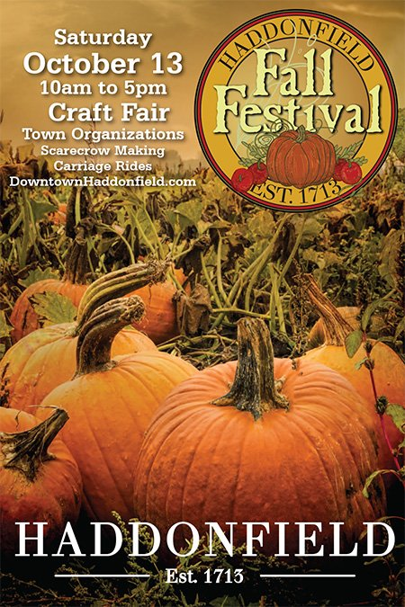 Haddonfield Fall Festival- October 13, 2018