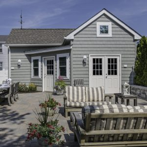 Two story addition and new garage on Long Beach Island