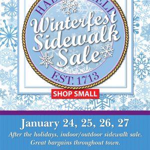Haddonfield's Winterfest Sidewalk Sale 2019